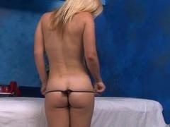 Hawt sexy hottie copulates and sucks her massage therapist